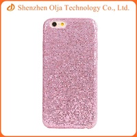 China Wholesale PU leather glittering fashion phone cases for the iphone 6 plus