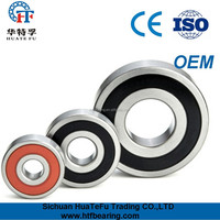 China factory free samples 6000-6010 with seal deep groove ball bearing