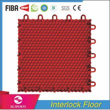 SG SPORTS Factory Fast Installation Modular Flooring for Sports Badminton Indoor Outdoor Court