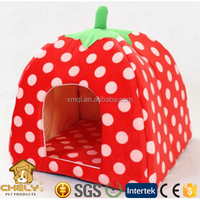 Popular And Stylish Strawberry Bed Dog House Dog Kennel For Sale Pet Beds & Accessories