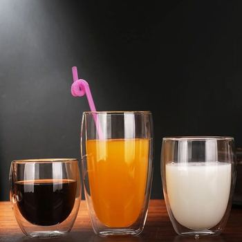 Unique design high quality drinking glass beer mugs clear small shot glass coffee cups