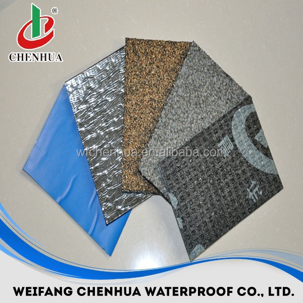 Bulk buy from China Modified Bitumen waterproof roofing material types