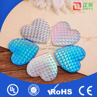 Wholesale flat back clothing decoration crystal beads