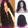 Wholesale curly afro wigs for black women hot sale curly wig unprocessed natural curly human hair wigs for black women