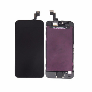 Cellphone lcd for iphone5 display for apple iphone 5 a1429 lcd display touch screen digitizer black and white color