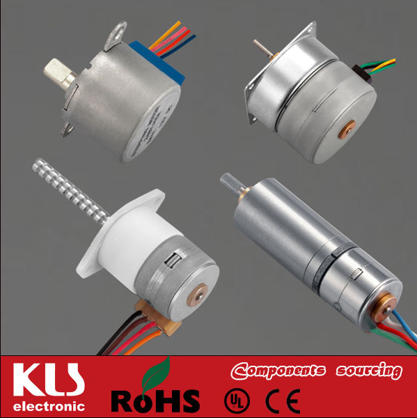 Small DC Stepper Motor Gear Reduction UL CE ROHS 01