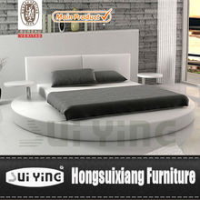 bedroom furniture leather round bed A531