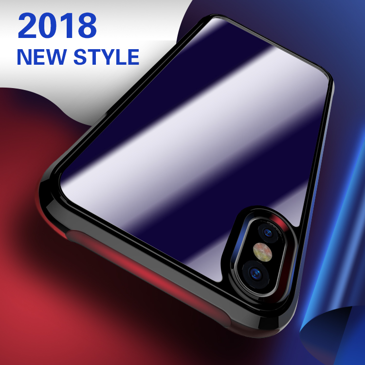 Custom print 360 protective shockproof acrylic tpc pc mobile cell phone cover case for iphone x 10