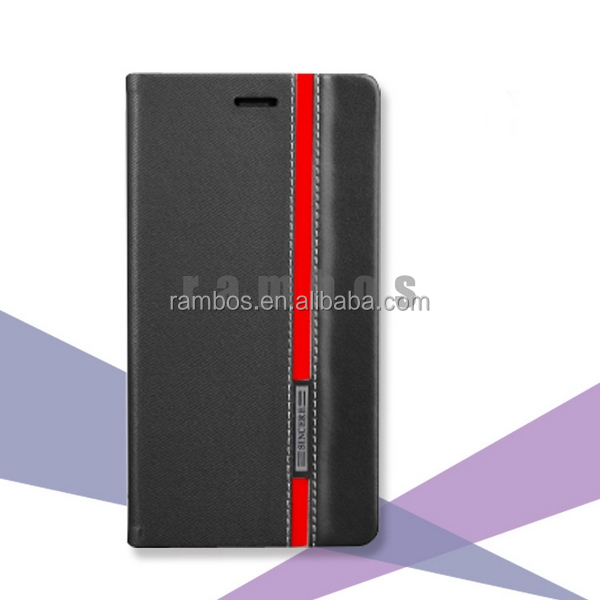 Stylish Leather Flip Wallet Case Cover Skin Handy Schutz Hulle Etui Cover for OnePlus One 1+