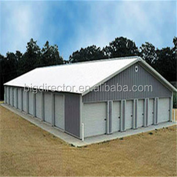 Steel Bar Storage Warehouses For Factory Building With Metal Structure Sudan