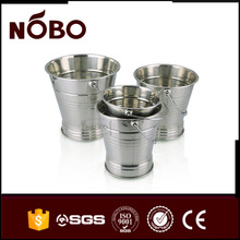 NOBO brand ice bucket metal stainless steel beer bucket