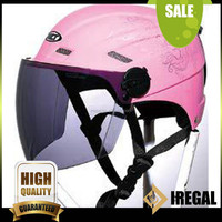 Cute pink mini Open face ladies motorcycle vietnam helmet