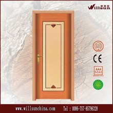 High quality inner UPVC door interior front entry door on sale