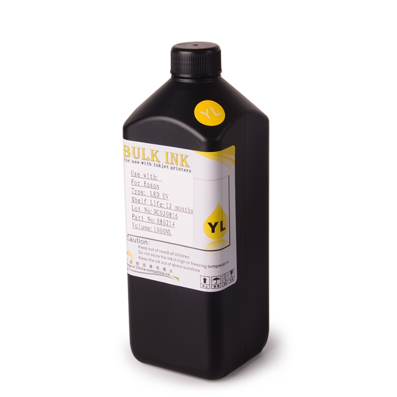 Ocbestjet UV Transparent Ink For Xaar 500 <strong>1001</strong> For Ricoh Gen4 Gen5 Printhead
