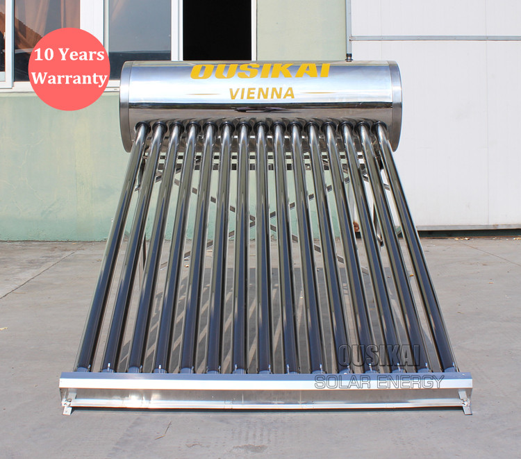 New Year Promotion OUSIKAI 2017 Hot SALE 200 L Low Pressure Solar Water Heater