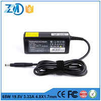 universal manual laptop charger 19.5v 3.33a charger for hp