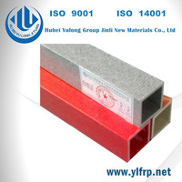 Impact resistant Pultruded FRP Square Tube with good RAW material