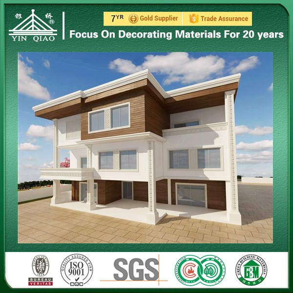 China Suppliers Glass Reinforced Concrete GRC Cornice For Wall Decoration