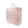 custom printing advertisement collection shopping tote carry pp woven zipper bag