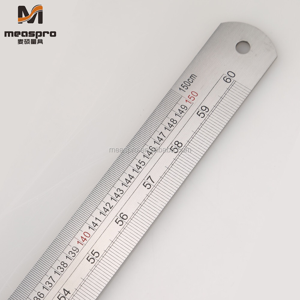 2M/80Inch Stainless Steel Ruler Graduated Ruler Long Ruler
