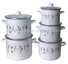 3pieces ceramic casserole with stand/wholesale cookware