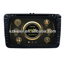 2 din dvd for VW satigar with 3G - ipod list - radio - gps - BT phonebook - wifi - iphone - navigation - mp5