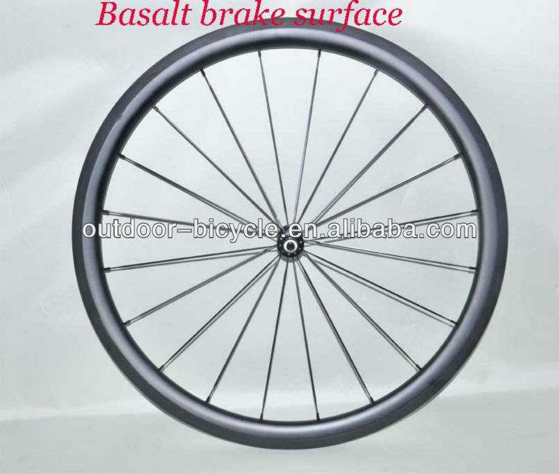 Chinese carbon wheels new U-shape,farsports 40mm tubular carbon road/mountain bike wheel,Basalt brake surface