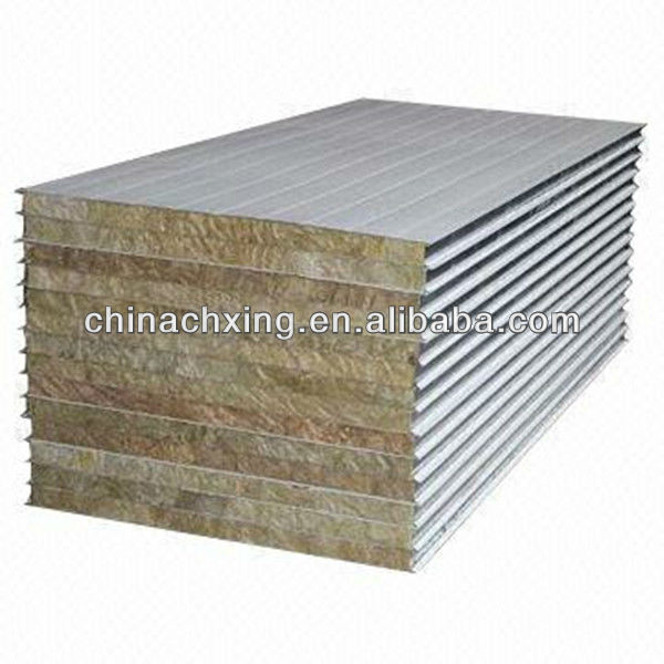 hight quality structural insulated Rockwool Sandwich Panel