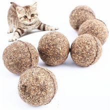 Wholesale Funny Nature Cat Mint Ball Catnip Cat Playing Toy