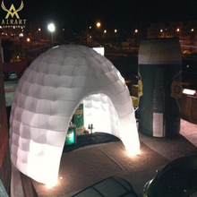 led airblown inflatable dome for event advertising