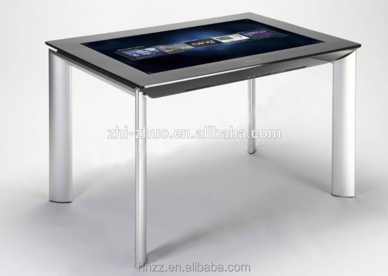Toughened Glass Panel 1080P Interactive Led Coffee Table