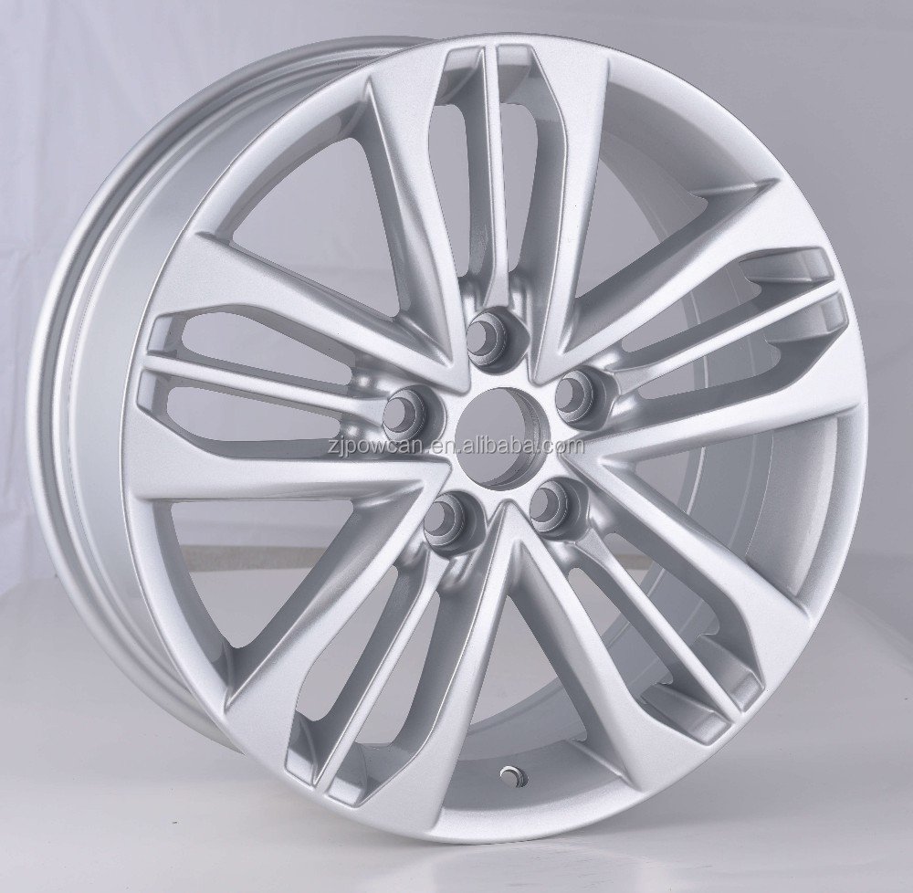 hot replica rims wheels for japan cam rims and also for normal car wheels 17inch with POWCAN produce
