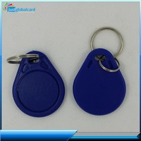 Hot product leather waterproof rfid key fob wholesale with key chain