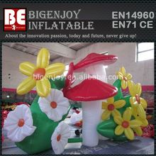Christmas Inflatable Flower Stage Decoration