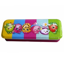 Hot Sell Gift Tin Packaging Double Sided Tin Pencil Box For Pen