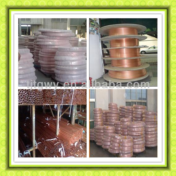 Copper pipe tube buy large diameter