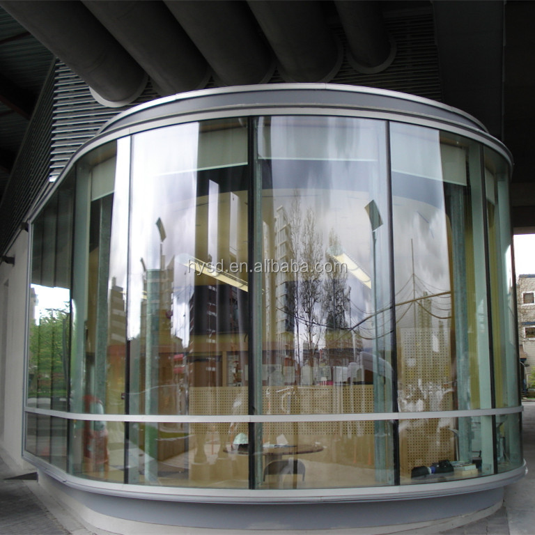 Beijing Haiyangshunda high quality 4mm-19mm curved glass sunrooms