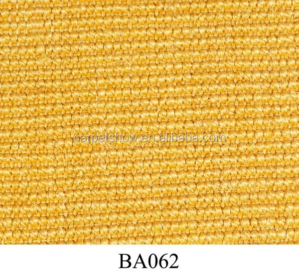 latex back sisal wool carpet for home use, carpet manufacturer