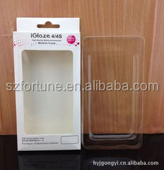 Custom iphone blister packaging , phone case packaging wholesale