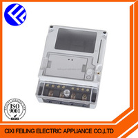 DDSY-2034-2 strong box enclosure for 1 phase plastic enclosure ip 54 fiberglass meter box