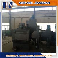 High Performance Tumble Belt Shot Sand Blasting Machine