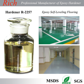 Modified Polyetheramine Self-Leveling Epoxy Flooring Coating Epoxy Curin Agent, epoxy Hardener R-2257