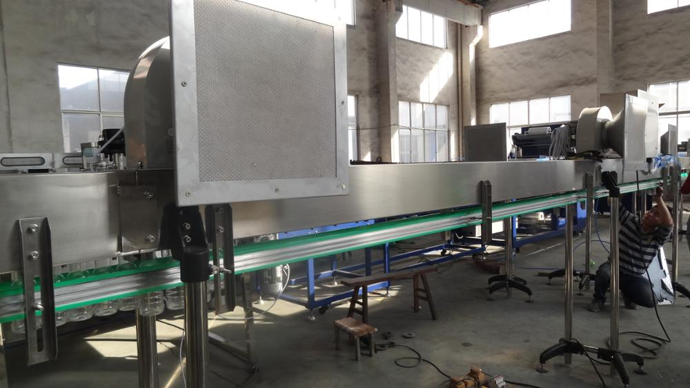 Large output juice production line 4-in-1 pulp filling machine with pet bottle