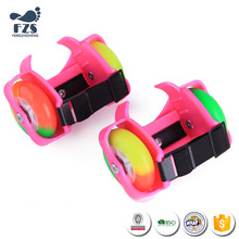 2017 new multicolor kids 4 wheels roller skates cheap price