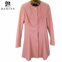 2016 New Spring Fashion Casual Women's Trench Coat Long Outerwear Clothes For Lady Good Quality