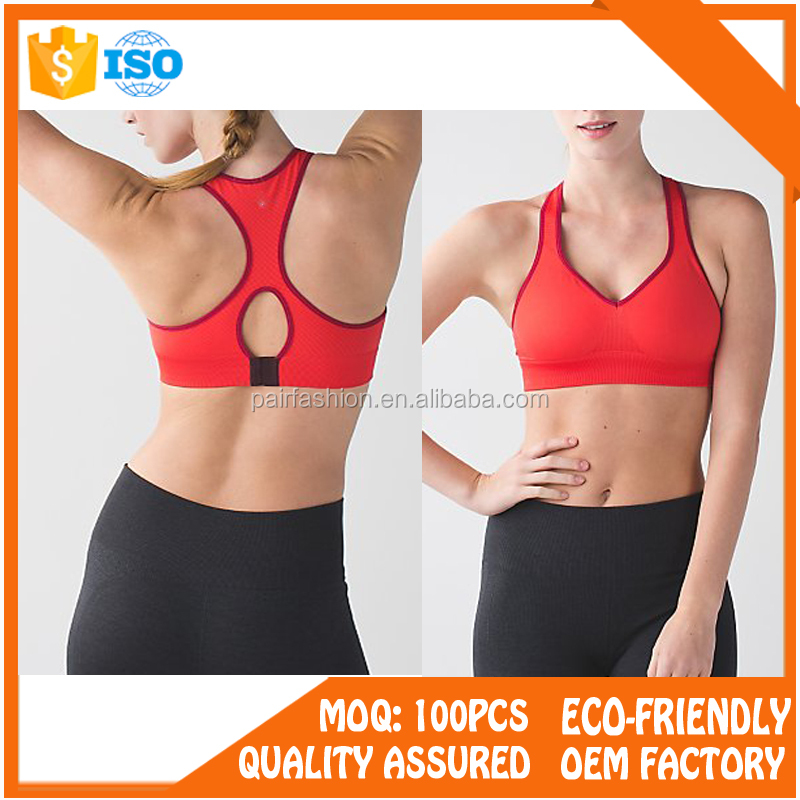 Competitive Price Wholesale Sports Bra High Support, hot images girls sexy sport seamless hot sex women's sports bra