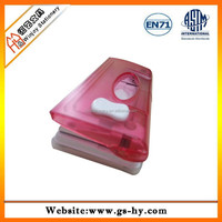 high quaity office plastic double holes punch