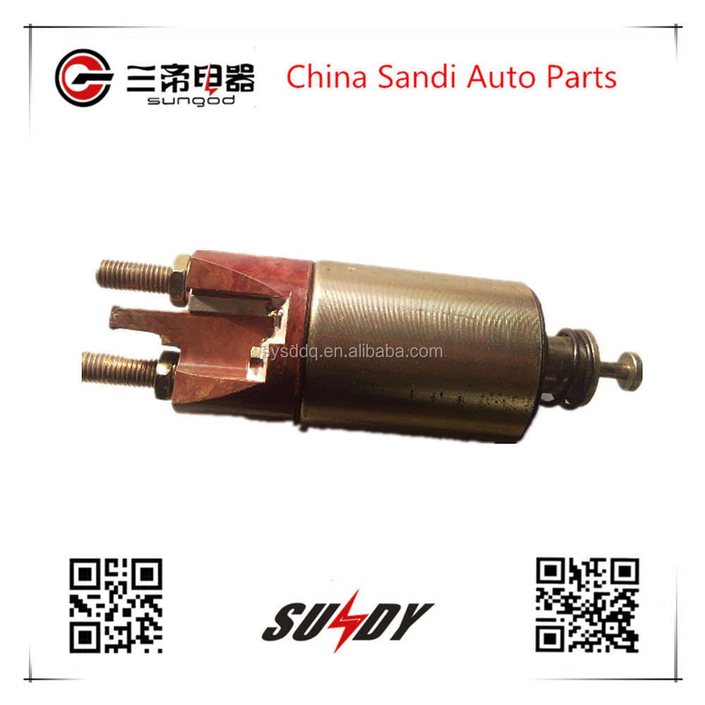 Auto parts starter Magnetic switch QDJ2618-600 for Dongfeng Renault
