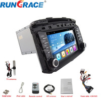 Luxury cheap 2 din car system Sorento 8'' Android gps car amplifier