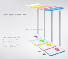Led desk lamp with Memory of Brightness smart led desk lamp touch control 8W dimmable table lamp